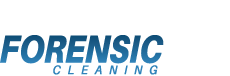 Forensic cleaning logo