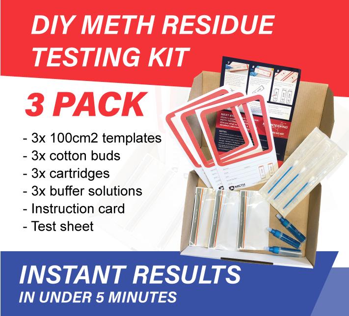 Drug Residue Testing Kit 3 Pack